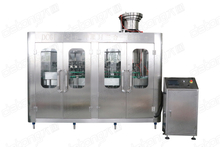 Glass bottle carbonated soft drink filling machine line